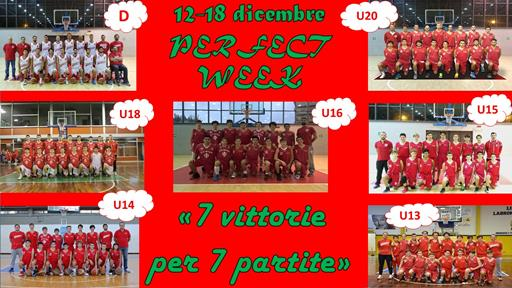 perfect week 12 18 DICEMBRE